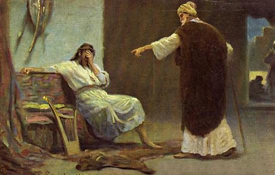 David Y Su Adulterio Con Betsab Lumbrera