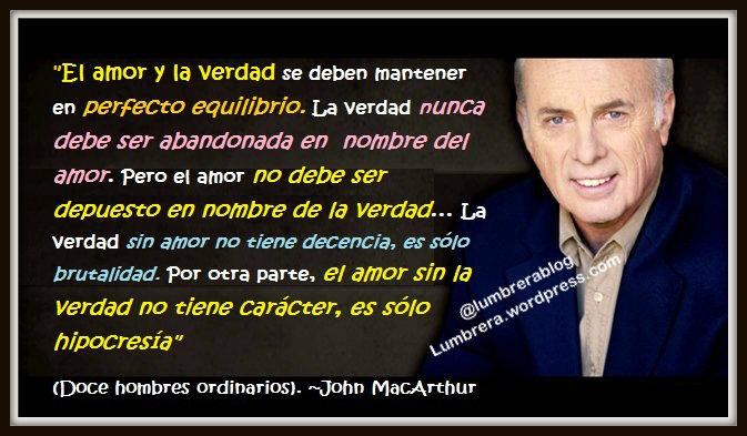 JOhn MacArthur frases