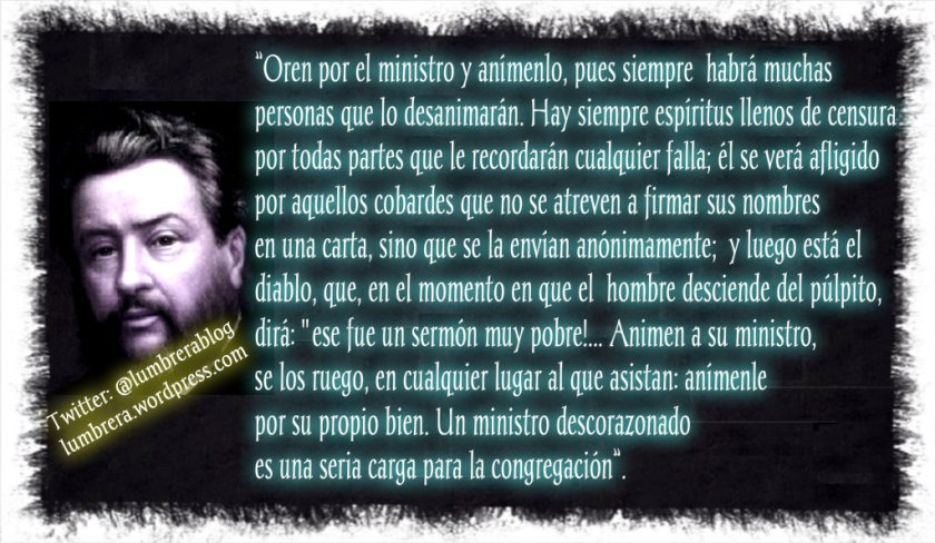 Animen a su Ministro_spurgeon