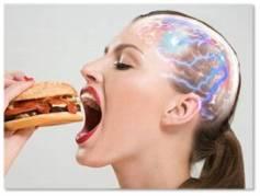 comida chatarra y pensamientos