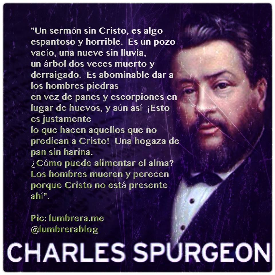 charles spurgeon Charles haddon (ch) spurgeon (19 june 1834 – 31 january 1892) was a english baptist preacherpeople still know him as the prince of preachers in his lifetime, spurgeon preached to about 10 million people spurgeon would often preach 10 times a week at different places.