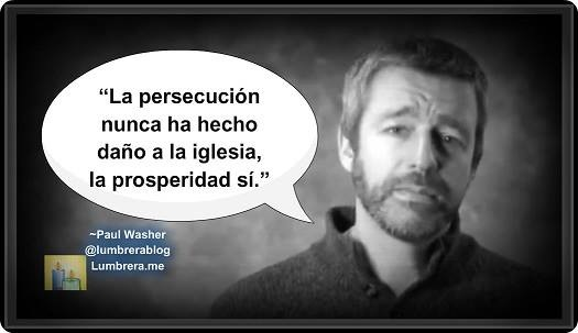 Paul Washer: La prosperidad