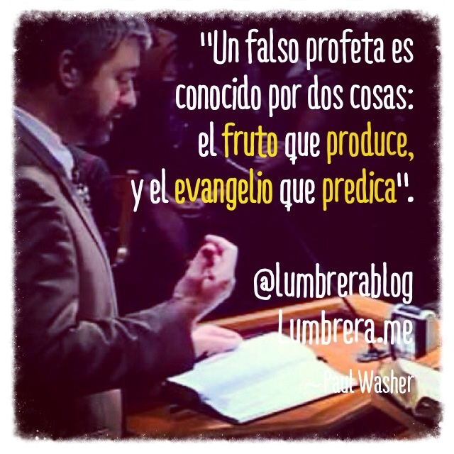 Paul Washer: Dos distintivos de un falso maestro #frases