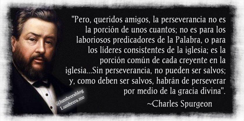 Perseverancia Charles Spurgeon