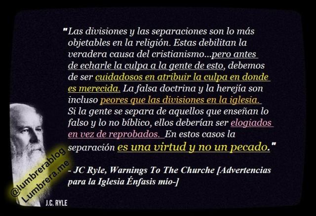 la defensa de la fe es una virtud jc ryle