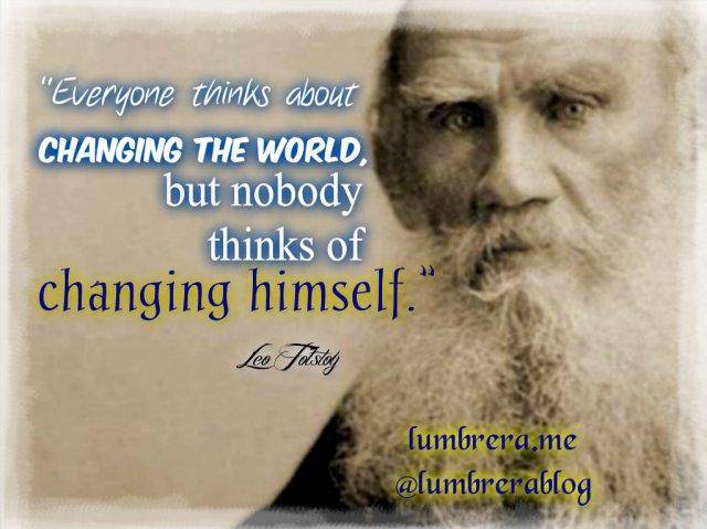 Leo Tostoy's Quote