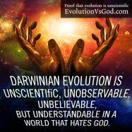 EVOLUCIÓN VS DIOS