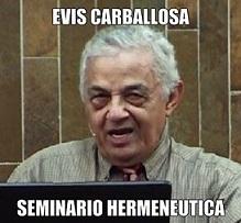 evis carballosa Seminario Hermenéutica